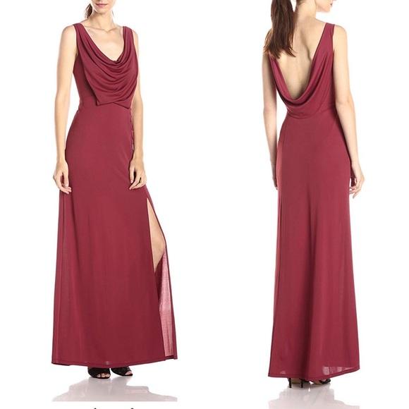 BCBG Dresses & Skirts - BCBG Lena draped gown